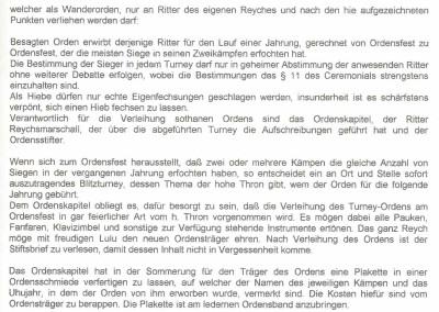 Stiftsbrief Turney Orden